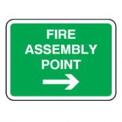 Safe Safety Sign - Fire assembly To 086